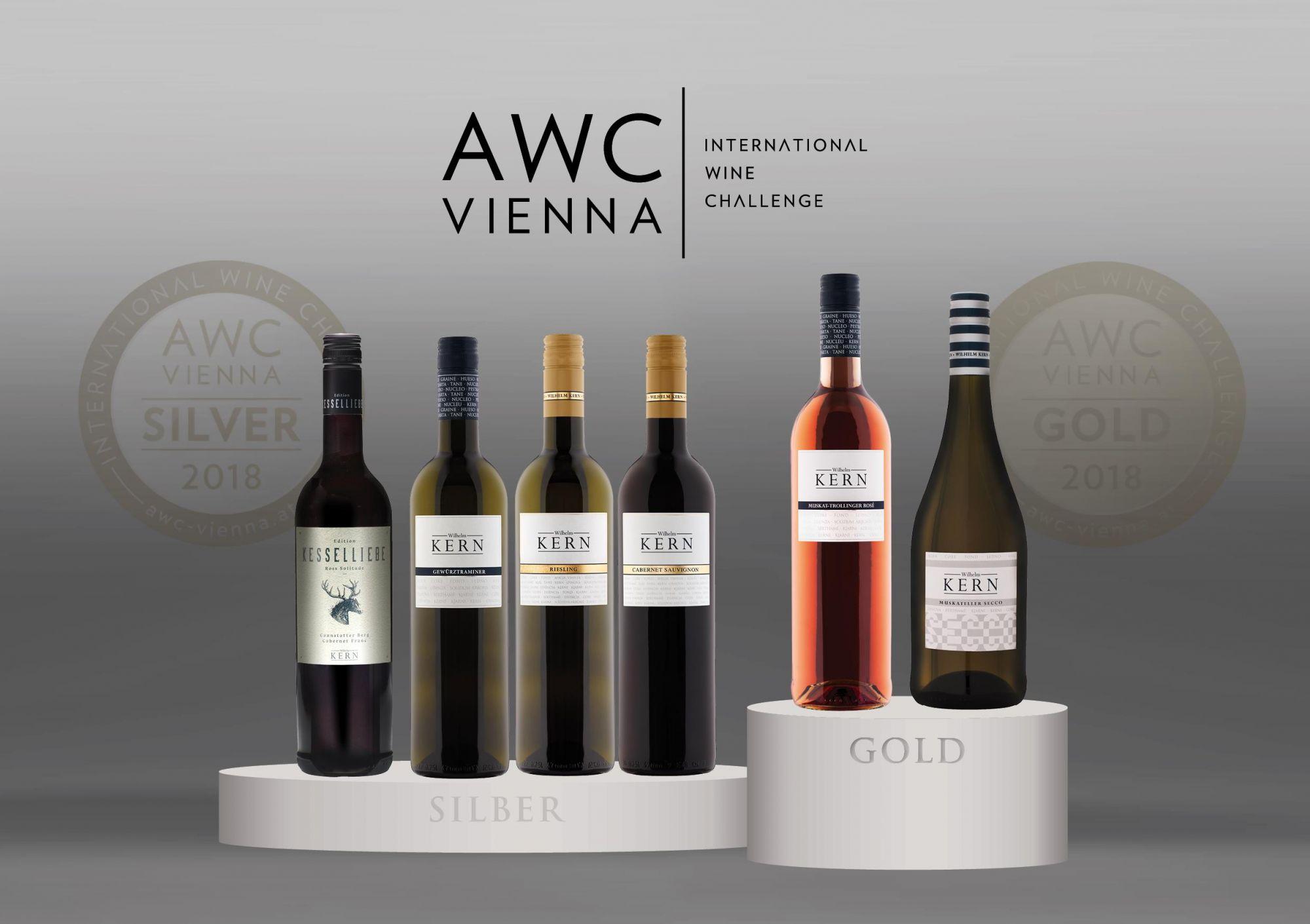 AWC Wien Auszeichnungen 2018