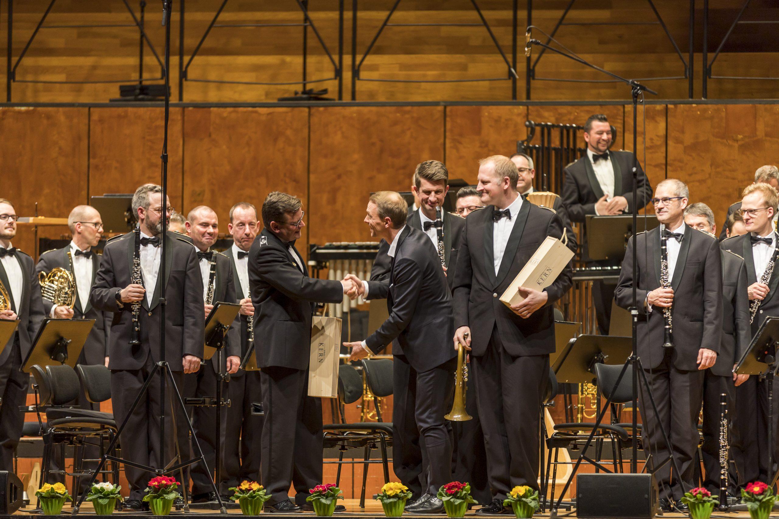 Kern-Weine beim Benezfizkonzert Heartbeats in der Liederhalle Stuttgart