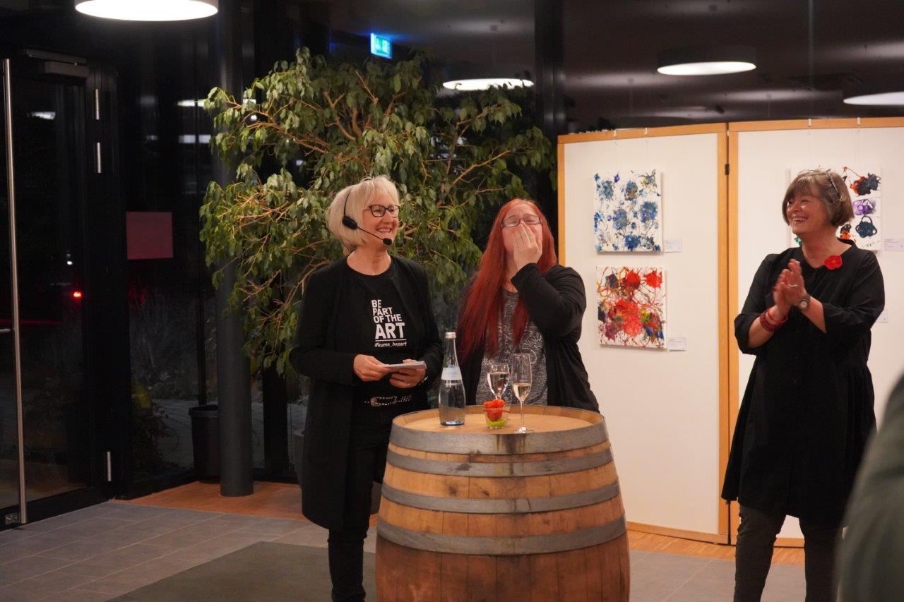 Eröffnung der Kunstausstellung bei Wilhelm Kern